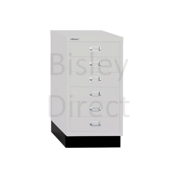 Bisley A3 6 drawer mulitdrawer H67 W 35 D 43.2cm 112-av7-LightGrey