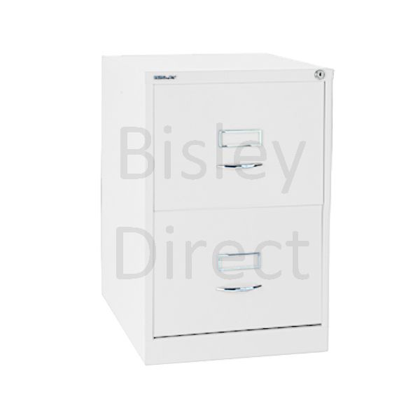 Bisley BS2C Classic Front Filing Cabinets 2 drawer H 71 W 47 D 62 cm 162-ba5-TrafficWhite