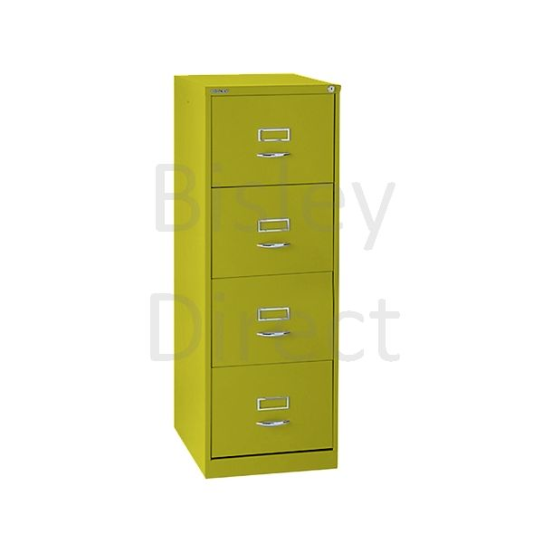 Bisley BS4C Classic Front Filing Cabinets 4 drawer H 131 W 47 D 62 cm 164-bp8-Mimosa