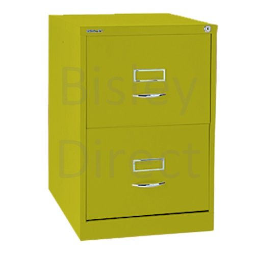 Bisley BS2C Classic Front Filing Cabinets 2 drawer H 71 W 47 D 62 cm 162-bp8-Mimosa