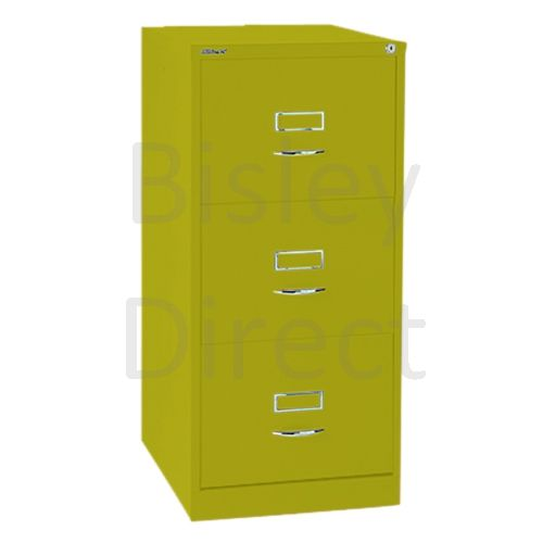 Bisley BS3C Classic Front Filing Cabinets 3 drawer H 101 W 47 D 62 cm 163-bp8-Mimosa