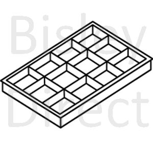 Bisley A3 compartment tray PIT451P5