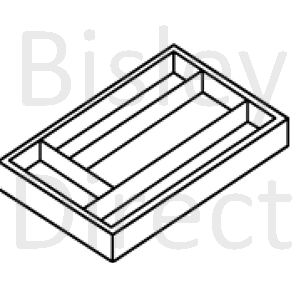 Bisley A4 pen tray  for some A4 drawers height 51mm PIT580 Smooth black