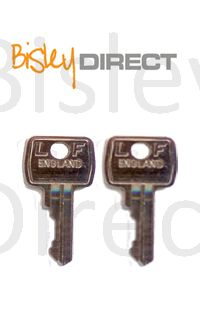 Replacement Bisley Keys (sold in pairs)