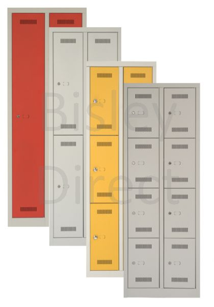 ML08D Bisley Monobloc Lockers