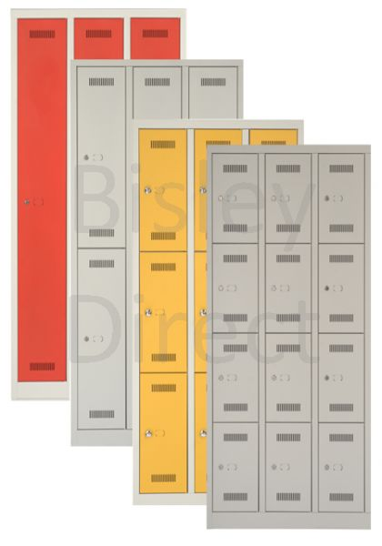 ML12T Bisley Monobloc Lockers