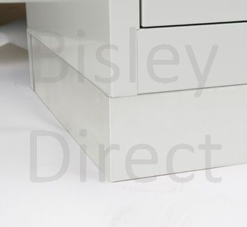 Bisley Double Monobloc Locker Door options ML08D 810mm wide steel locker