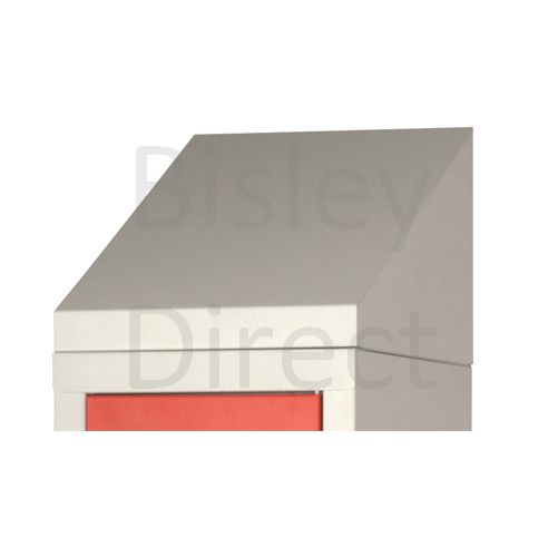 Bisley Triple Monobloc Locker Door options ML12T 1200mm wide steel locker