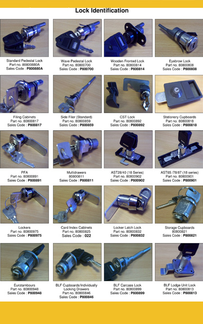 Replacement Locks for Bisley Cabinets
